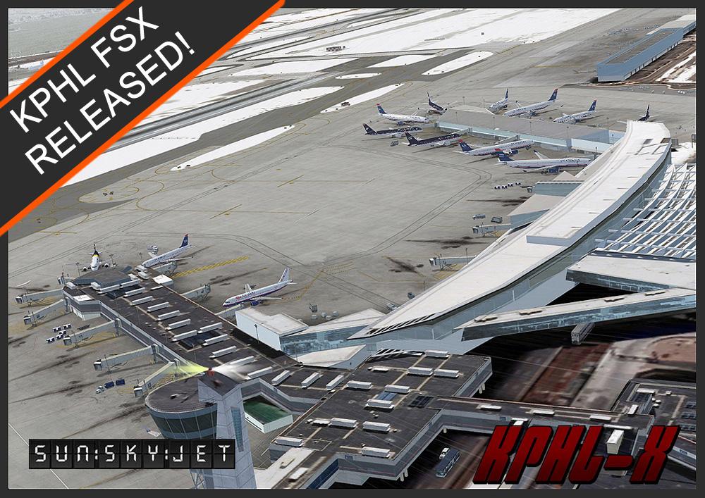 KPHL For FSX – SunSkyJet Studios Betasite
